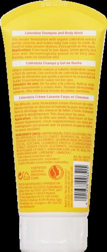 Weleda Baby Calendula Extract 2-in-1 Gentle Shampoo + Body Wash Perspective: back