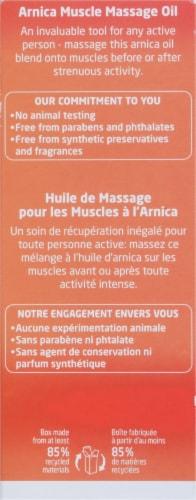 Weleda Arnica Muscle Massage Oil Perspective: back