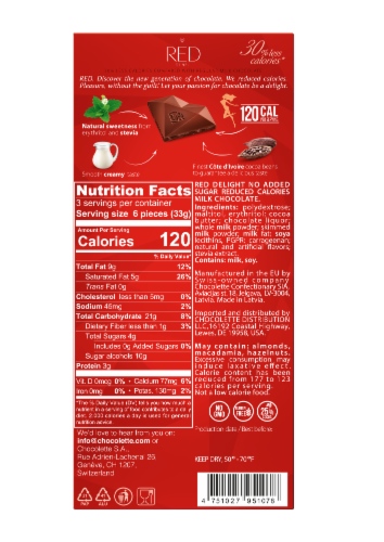 RED Milk Chocolate Perspective: back