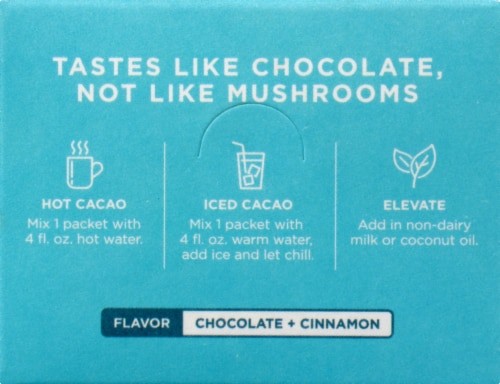 Four Sigmatic Mushroom with Reishi Cacao Mix Perspective: back