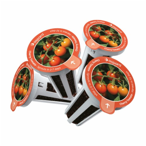 aspara Cherry Tomato Seed Capsules Perspective: back