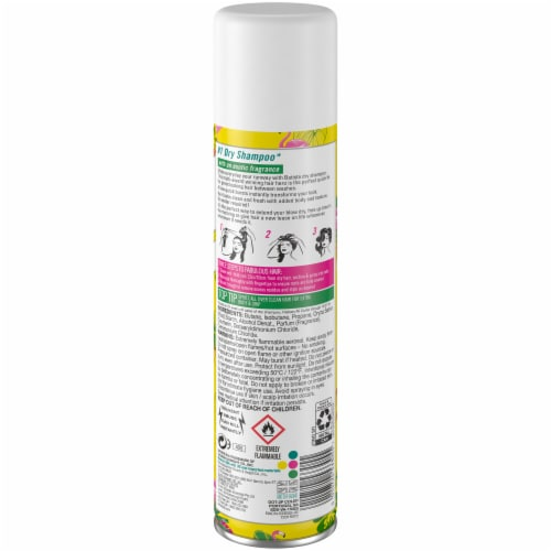 Batiste Instant Hair Refresh Tropical Dry Shampoo Perspective: back