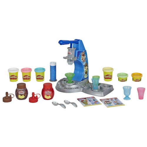Play-Doh Kitchen Creations Drizzy Ice Cream Playset Perspective: back