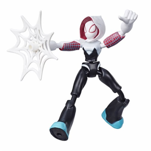 Hasbro Marvel Spider-Man Bend and Flex Ghost-Spider Action Figure Perspective: back