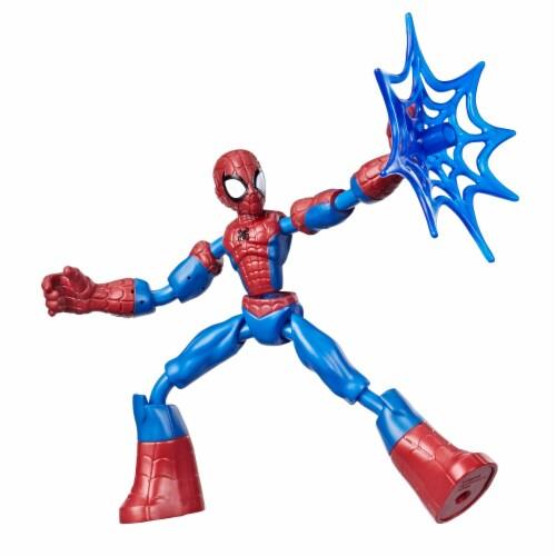 Hasbro Marvel Avengers Bend and Flex Spider-Man Action Figure Perspective: back
