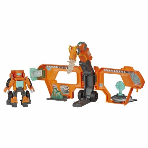 Hasbro Playskool Heroes Transformers Rescue Bots Academy Command Center Playset Perspective: back