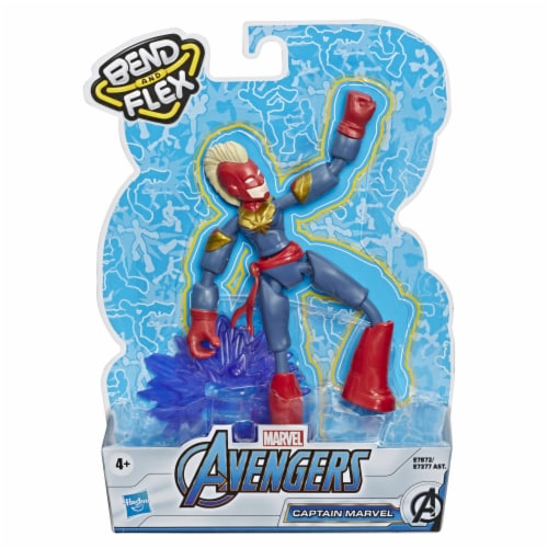 Hasbro Marvel Avengers Bend and Flex Action Figure - Assorted Perspective: back