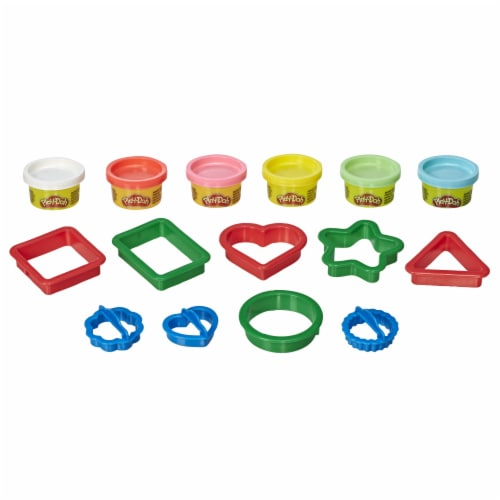 Play-Doh Fundamentals Shapes Modeling Playset Perspective: back