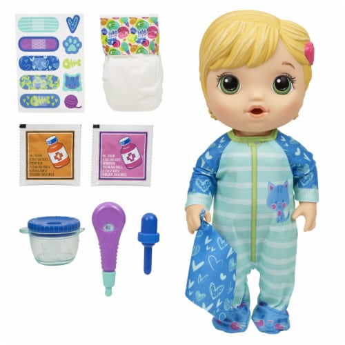 Hasbro Baby Alive Mix My Medicine Baby Doll Perspective: back