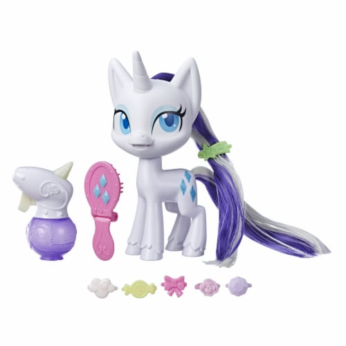 Hasbro My Little Pony Rarity Magical Mane Toy Perspective: back