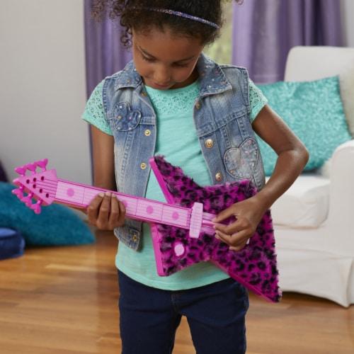 Hasbro DreamWorks Trolls World Tour Poppy's Rock Guitar Perspective: back