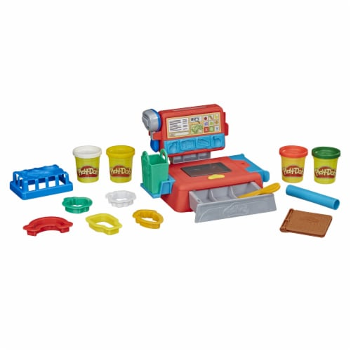 Play-Doh Cash Register Modeling Compound Playset Perspective: back