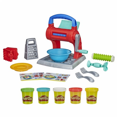 Play-Doh Kitchen Creations Noodle Party Modeling Compound Playset Perspective: back