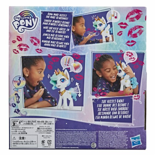 My Little Pony Magical Kiss Unicorn Princess Celestia Doll Perspective: back