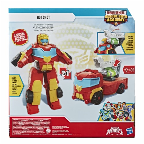 Playskool Heroes Transformers Rescue Bots Academy Hot Shot Action Figure Perspective: back