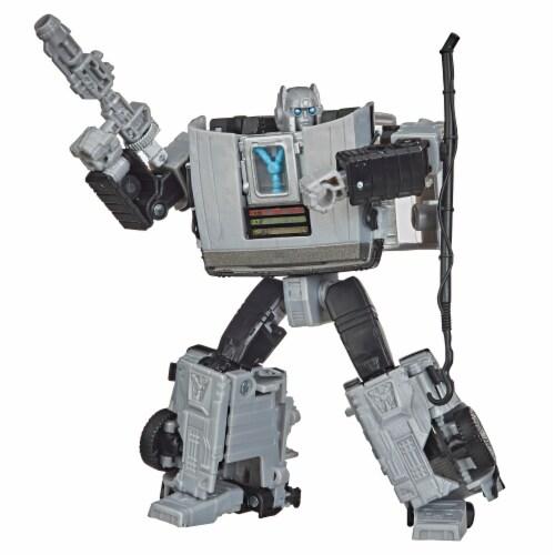 Hasbro Transformers Collaborative Back to the Future Gigawatt Figure Perspective: back