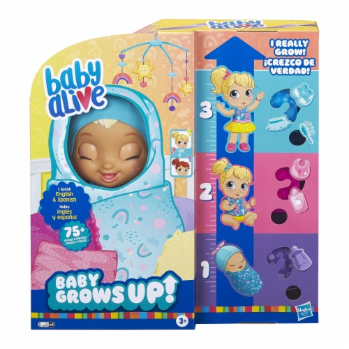 Hasbro Baby Alive Happy Hope or Merry Meadow Doll Perspective: back