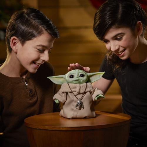 Hasbro Star Wars The Mandalorian The Child Animatronic Figure Perspective: back