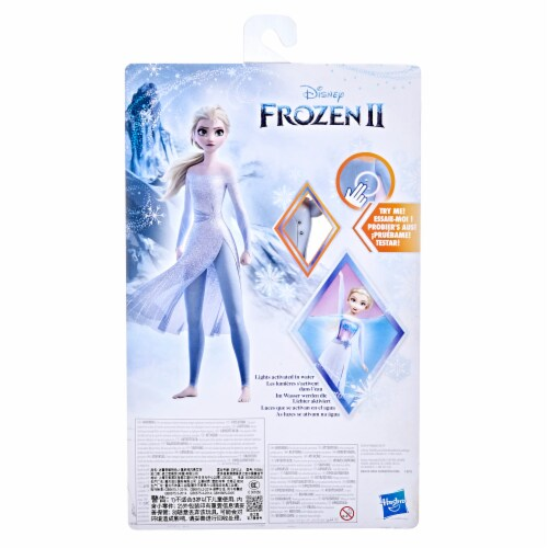 Disney Frozen 2 Splash & Sparkle Elsa Doll Perspective: back