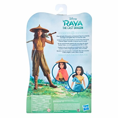 Disney Raya and the Last Dragon Raya's Adventure Styles Perspective: back