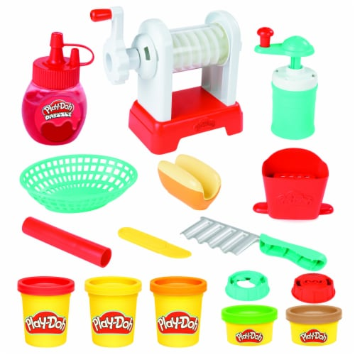 Play-Doh Kitchen Creations Spiral Fries Playset Perspective: back