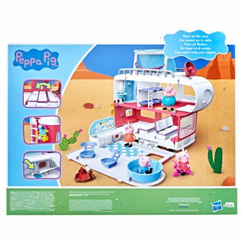 Peppa's Family Motorhome Playset Perspective: back