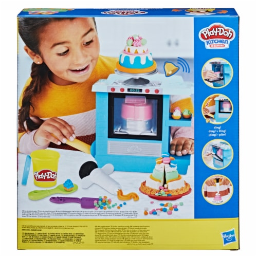 Play-Doh Kitchen Creations Rising Cake Oven Playset Perspective: back