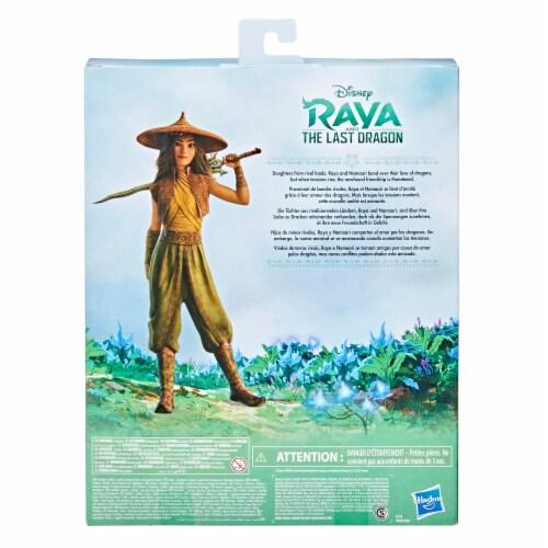 Disney Raya and The Last Dragon Young Raya and Namaari Doll Playset Perspective: back