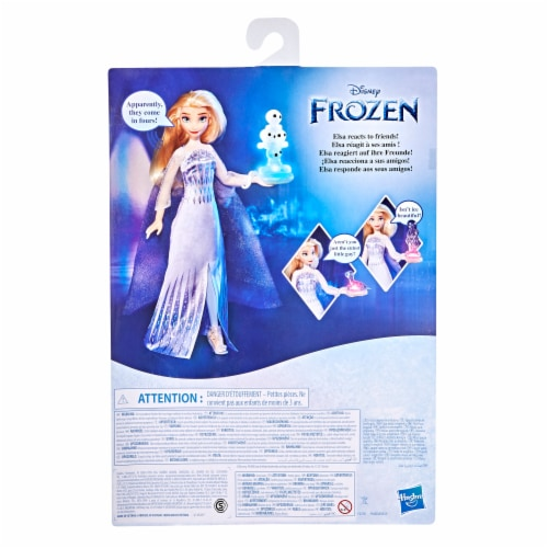 Disney's Frozen 2 Talking Elsa Doll Perspective: back