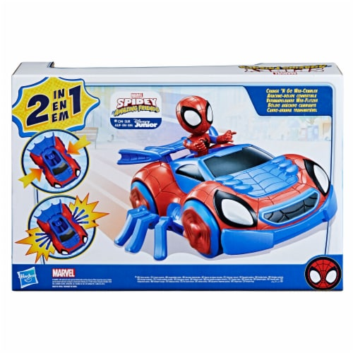 Hasbro Disney Junior Marvel Spidey and His Amazing Friends Web-Crawler And Spidey Perspective: back