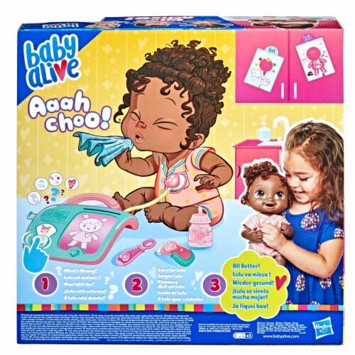 Baby Alive Lulu Achoo Doll Perspective: back