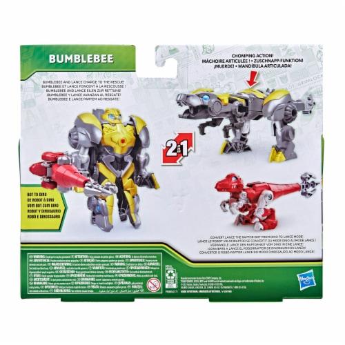 Hasbro Transformers Dinobot Adventures Bumblebee Figures Perspective: back