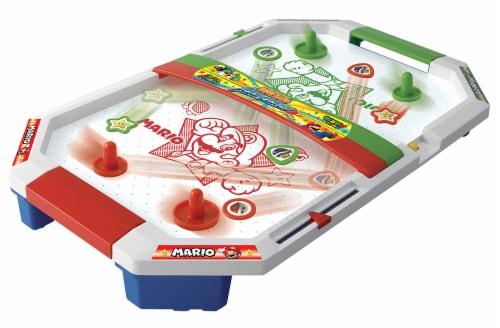 Epoch Super Mario Air Hockey Game Perspective: back