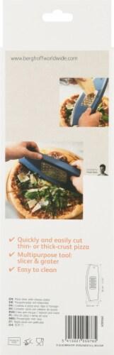BergHOFF Leo Pizza Slicer & Grater - Blue Perspective: back