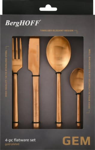 BergHOFF Flatware Set - Gold Plated Perspective: back