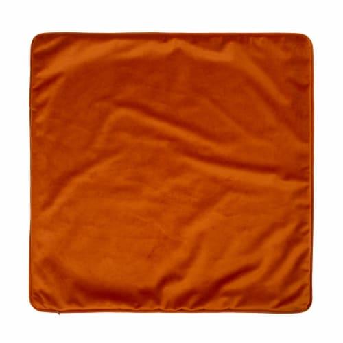Glitzhome Faux Burlap Harvest Fall Pumpkin Pillow Cover Perspective: back