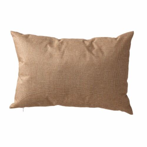 Glitzhome Patriotic Americana Burlap Pillow Perspective: back