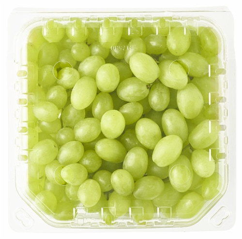 Green Seedless Grapes Perspective: back