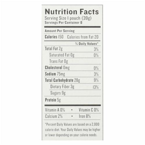 Gluten Freeda Instant Oatmeal - Maple Raisin - Case of 8 - 11.05 oz. Perspective: back