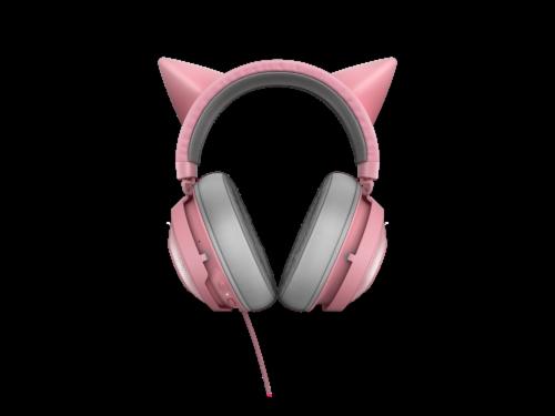 Razer Kraken Kitty Quartz Chroma USB Gaming Headset Perspective: back