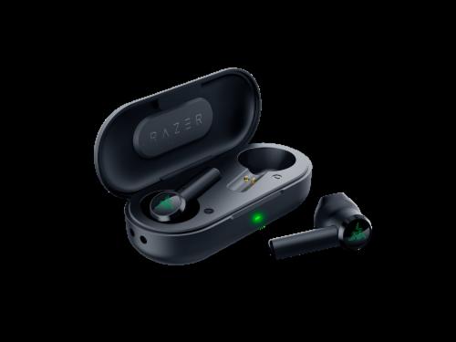 Razer Hammerhead True Wireless Pro Earbuds Perspective: back