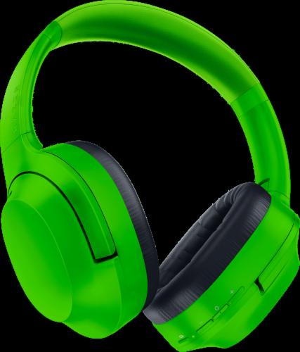 Razer Opus X Green Headphones Perspective: back