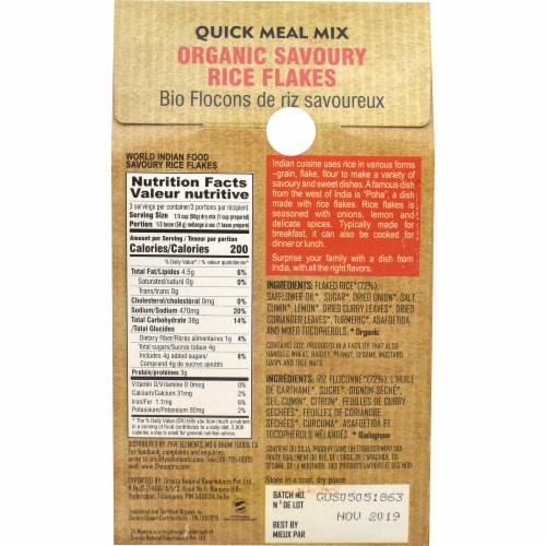 24 Mantra Organic Savoury Rice Flakes Kanda Poha Perspective: back