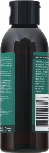 Sukin Super Greens Cleansing Oil Perspective: back