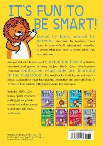 Brain Quest Kindergarten Workbook by Brain Quest Perspective: back