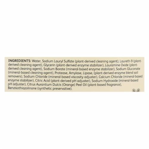 CitraSolv Citra Suds Liquid Laundry Detergent - Valencia Orange - Case of 6 - 50 oz Perspective: back
