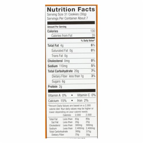 Annie'S Homegrown Bunny Grahams Honey - Case Of 12 - 7.5 Oz Perspective: back