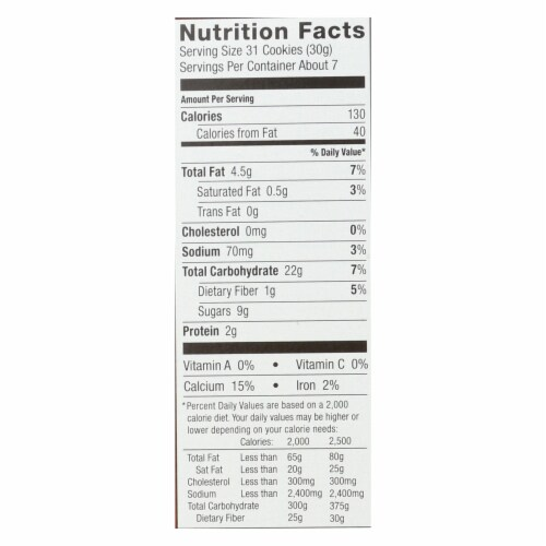 Annie'S Homegrown Bunny Grahams Chocolate - Case Of 12 - 7.5 Oz Perspective: back