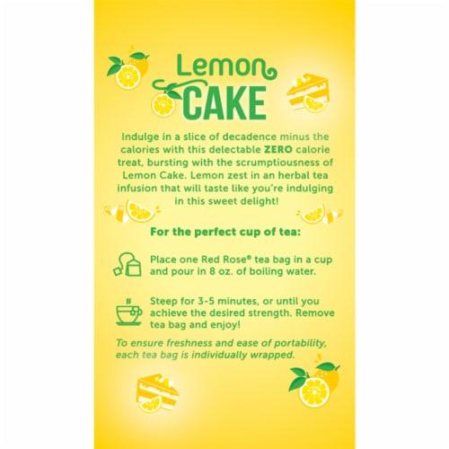 Red Rose Sweet Temptations Lemon Cake 18ct - 6 pack Perspective: back