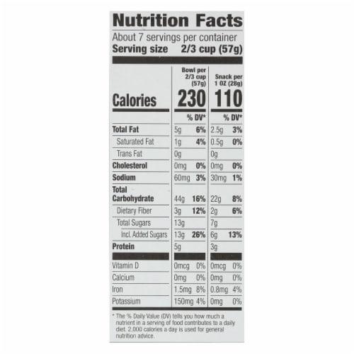Cascadian Farm Organic Granola Cereal - Maple Brown Sugar - Case of 6 - 15 oz Perspective: back